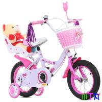 新款顶配送头盔新款儿童自行车童车12寸14寸16寸18儿童单车2~9岁