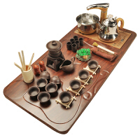 紫砂陶瓷茶杯茶台自动四合一茶具套装家用实木茶盘整套