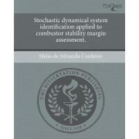 【预订】Stochastic Dynamical System Identification Applied
