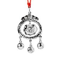 梦克拉 S990银宝宝锁吊坠 淘气宝宝 项链吊坠