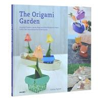 ORIGAMI GARDEN:AMAZING FLOWERS,LEAVES 折纸的花园:神奇的花,叶 手工DIY 折纸
