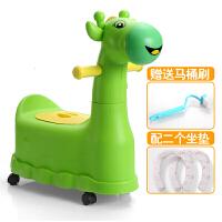 加大号抽屉式儿童坐便凳女宝宝坐便器婴幼儿男便盆小孩马桶座便器 +2个便垫