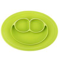 宝宝餐盘分格盘一体式训练勺叉餐具套装婴儿童吸盘碗硅胶