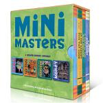 【中商原版】小小艺术家 4册绘本 英文原版 Mini Masters 纸板书 画家名画启蒙 艺术美育 3-6岁