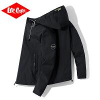 Lee Cooper2020春夏新款�A克男式外套�B帽�敉庑蓍e�\�语L衣青年�A克男士外套