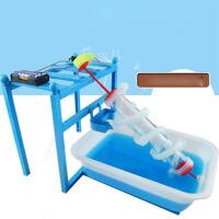 儿童小学生科技小制作初中生教具电动水车水轮科学实验玩具