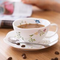 北欧风咖啡杯陶瓷马克杯早餐杯下午茶杯花茶茶具喝水杯子马克杯