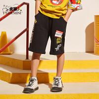 【2件3折到手价:53.7元】小虎宝儿男童五分裤纯棉2020夏季新款儿童运动短裤外穿潮童中大童