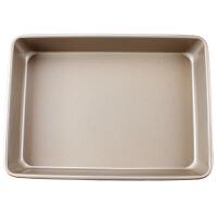 烘焙模具 烤箱用品金色加厚 蛋糕模具 披萨盘 家用烘焙工具 长方形烤盘厨房用品