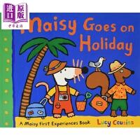 【中商原版】小鼠波波去度假 Maisy Goes on Holiday 低幼亲子启蒙故事绘本 Lucy Cousins