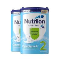 Nutrilon诺优能牛栏荷兰原装进口 婴幼儿牛奶粉配方奶粉2段6-10个月800g保税仓发货