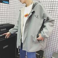春季新款外套男港风韩版潮流学生日系休闲夹克外套男士衣服