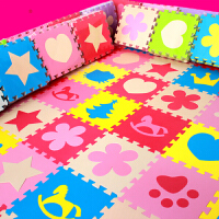 海绵爬行垫榻榻米家用地板垫子 套装儿童拼图地垫泡沫卧室拼接