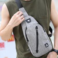 2018夏季胸包男士腰包韩版休闲简约斜挎包单肩包户外小包潮手机包