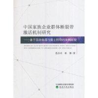 【正版现货】中国家族企业群体断裂带激活机制研究――基于国美电器与雷士照明的案例比较 9787514178227 经济科