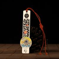 碳墨轩 彩晶系列 祥龙戏珠 中国风书签 当当自营