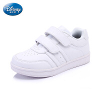 迪士尼儿童鞋春秋新款女童运动鞋男童女童板鞋小学生小白鞋白色运动鞋小朋友运动鞋旅游鞋平底鞋 DS2074