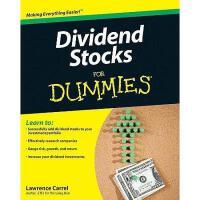【预订】Dividend Stocks For Dummies