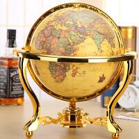 客厅书房办公桌室摆设 32CM古地球仪礼品地球仪摆件