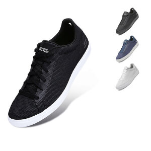 Skechers斯凯奇男鞋新款时尚板鞋 透气网布健步休闲运动鞋 54320