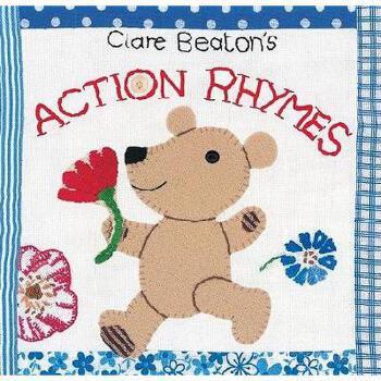【预订】Clare Beaton's Action Rhymes 美国库房发货,通常付款后3-5周到货!