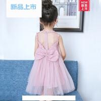 女童连衣裙夏季2018新款女孩蕾丝蓬蓬纱裙宝宝公主裙儿童裙子夏装