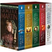 【现货】英文原版 冰与火之歌全集(权利的游戏)1-5套装 A Game of Thrones (Song of Ice