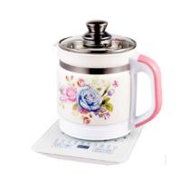 多功能电热烧水壶花茶壶黑茶壶煮茶器煲迷你养生陶瓷养生壶 粉