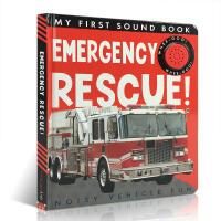 英文原版 My First Sound Book: Emergency Rescue! 发声书 启蒙儿童认识急救车