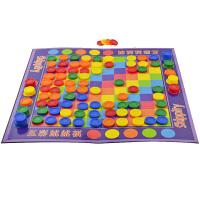 儿童桌游棋牌游戏3-8周岁男孩女孩玩具五彩跳棋