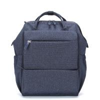 卡拉羊简约多功能防泼水休闲大容量男女旅行笔记本电脑背包双肩包CX5947