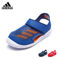 【到手价:189元】阿迪达斯Adidas童鞋17年夏新品男女童凉鞋中小童包头沙滩鞋凉鞋 BA9378