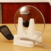 【满减】欧润哲 ABS塑料锅盖砧板两用架 锅盖架厨房锅盖座 置物架 2只装