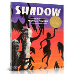 美国凯迪克金奖 英文原版进口绘本图画书Shadow 影子名家Marcia Brown