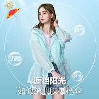 simplezzii/简兹_沙滩防晒衣女中长款夏季新款大码白色长袖收腰宽松通勤短外套潮