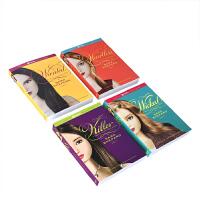 英文原版A Pretty Little Liars Box Set 美少女的谎言5-6-7-8册礼盒套装章节桥梁书中小