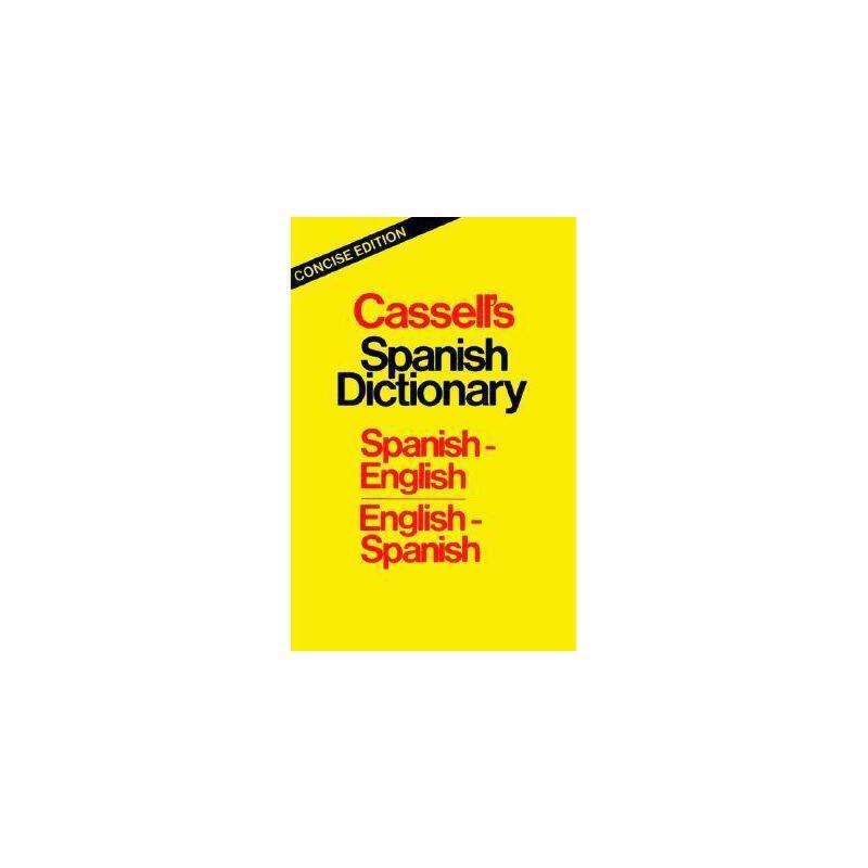 【预订】Cassell's Spanish Dictionary: 美国库房发货,通常付款后3-5周到货!
