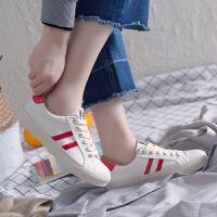 2018新款小白鞋女款百搭韩版板鞋学生复古港味ins鞋子女