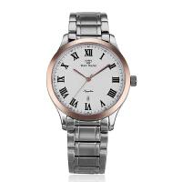 天王表男士手表时尚商务休闲手表石英钢带男表GS3686