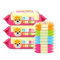 [当当自营]温莎婴儿口手湿巾80片*3包+10片*10包