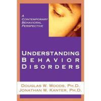 【预订】Understanding Behavior Disorders: A Contemporary
