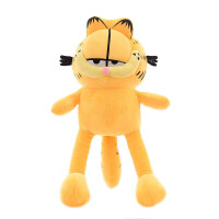 加菲猫公仔可爱咖啡猫毛绒玩具大号压床布娃娃玩偶儿童生日礼物女 如图 (送40厘米同款加菲猫)