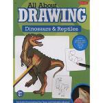 【预订】All about Drawing Dinosaurs & Reptiles
