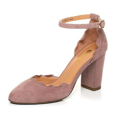 Belle/百丽2017春季专柜同款羊绒皮荷叶边女凉鞋BSU30AK7