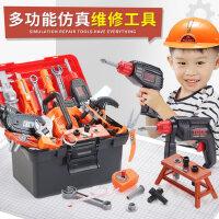 儿童工具箱玩具套装男孩仿真维修电钻多功能修理箱宝宝拧螺丝组装