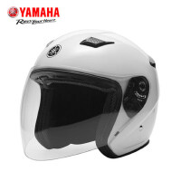 YAMAHA雅马哈摩托车头盔电动车头盔男女四季安全帽夏季通风半盔