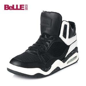 Belle/百丽秋专柜同款/白小牛皮女单鞋BFC40CM5