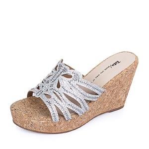 Tata/他她夏季专柜同款透黑钻女鞋2A2A1BT6