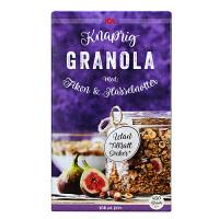 瑞典ICA无花果榛子酥脆麦片进口早餐营养麦片450g