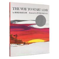 【全店300减100】凯迪克银奖 英文进口绘本童书 Way to Start A Day 开始的地方